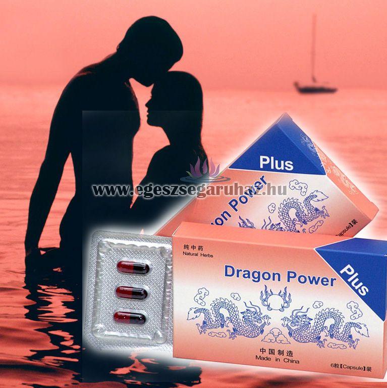 BIO-PLANET DRAGON POWER PLUS - szexuális teljesítményfokozó alkalmi használatra