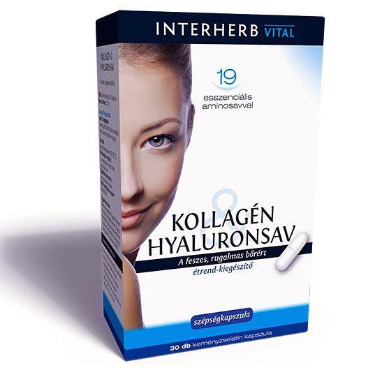 Kollagén & Hyaluronsav szépségkapszula