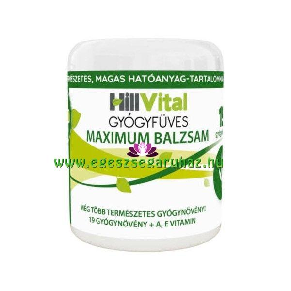 HillVital gyógyfüves Maximum fájdalomcsillapító balzsam